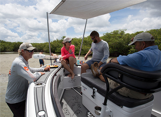 crevalle boats in lakes and bays
