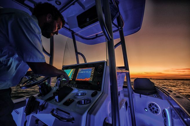 Simrad Naviops Integrated Information Display