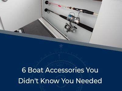 6 Boat Accessories You Didn't Know You Needed - Image of a rod storage compartment on a Crevalle boat
