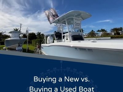 Buying A New vs. Buying A Used Boat - image of boats for sale